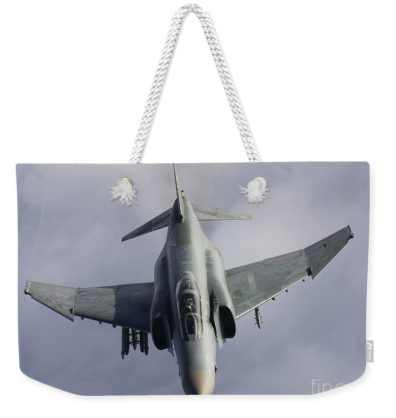 Germany Weekender Tote Bag featuring the photograph Luftwaffe F-4f Phantom II by Gert Kromhout