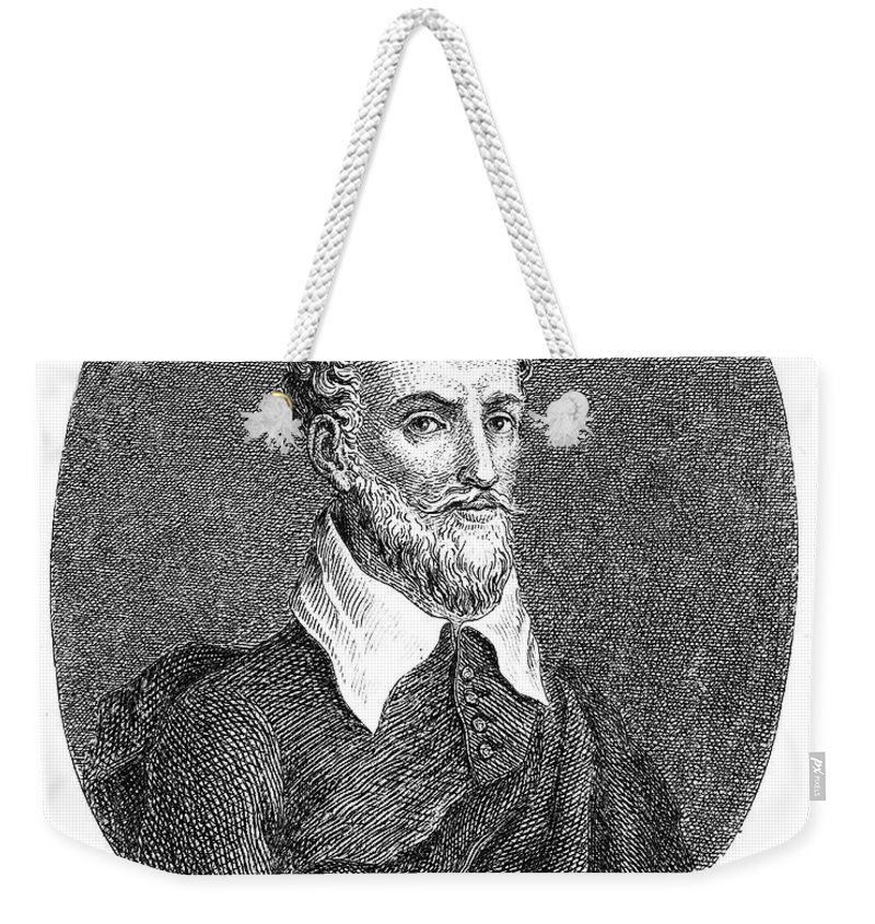 16th Century Weekender Tote Bag featuring the photograph Torquato Tasso (1544-1595) by Granger