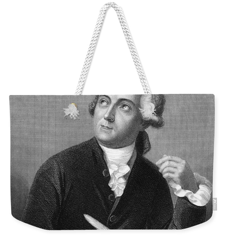 18th Century Weekender Tote Bag featuring the photograph Antoine Laurent Lavoisier by Granger