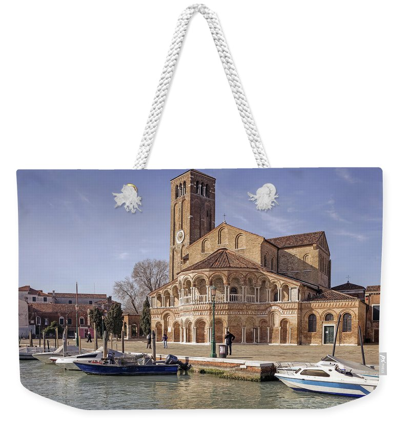 Basilica Weekender Tote Bag featuring the photograph Murano by Joana Kruse