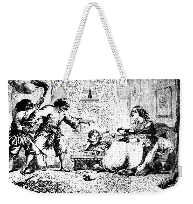 1857 Weekender Tote Bag featuring the photograph India: Sepoy Rebellion, 1857 by Granger