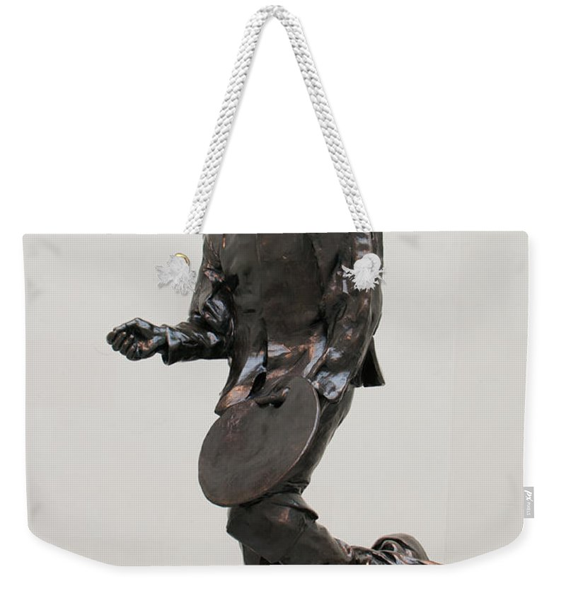 California Weekender Tote Bag featuring the digital art Legion Of Honor Museum San Francisco by Carol Ailles