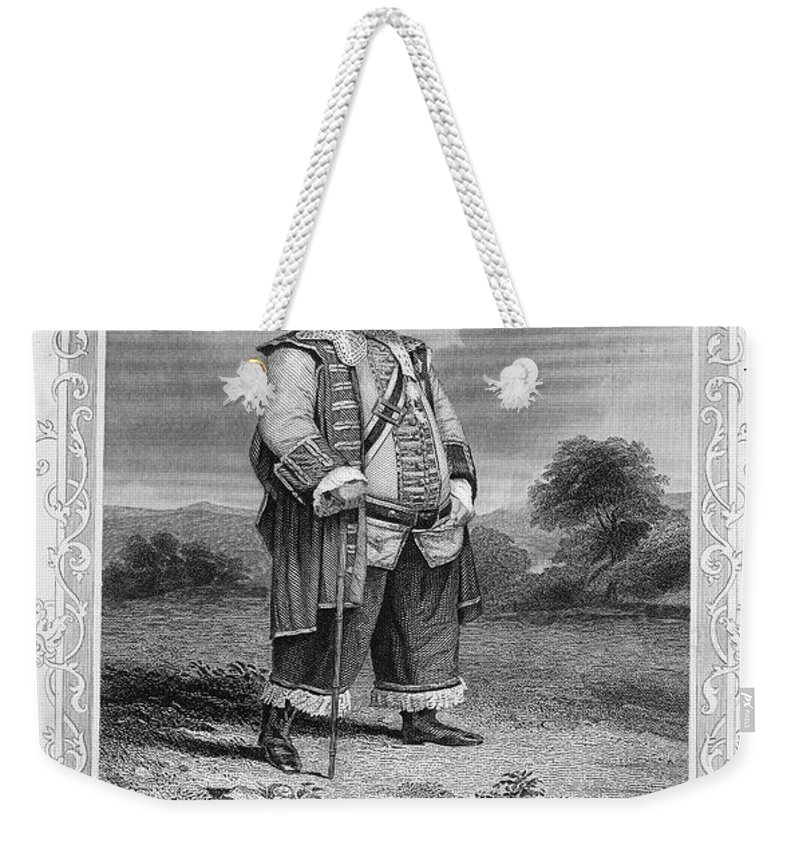 19th Century Weekender Tote Bag featuring the photograph Shakespeare: Henry Iv by Granger