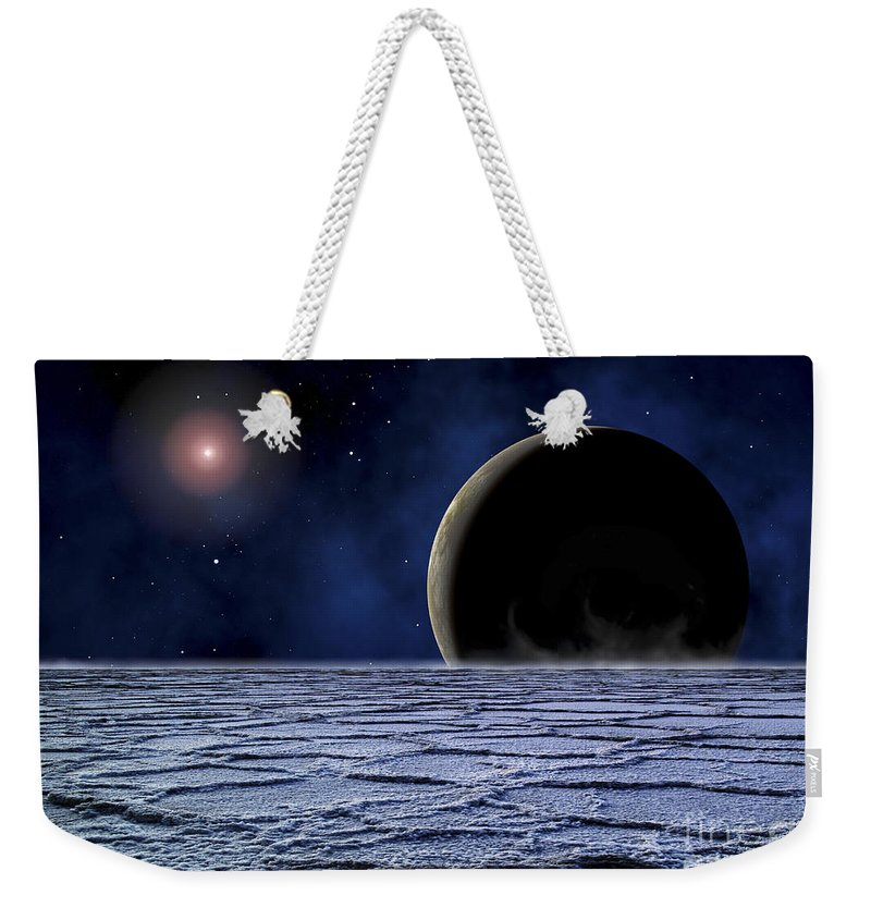 Frozen Tundra Weekender Tote Bags