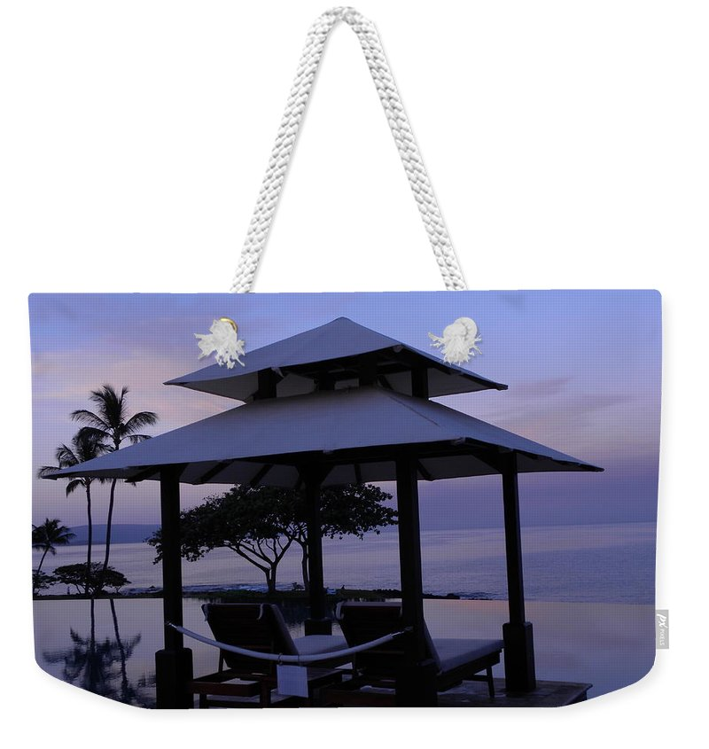 Sunrise Weekender Tote Bag featuring the photograph A New Day by Peggy McDonald