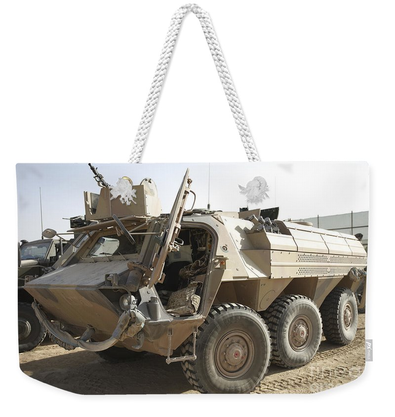 A Tpz Fuchs Armored Personnel Carrier Weekender Tote Bag For Sale By