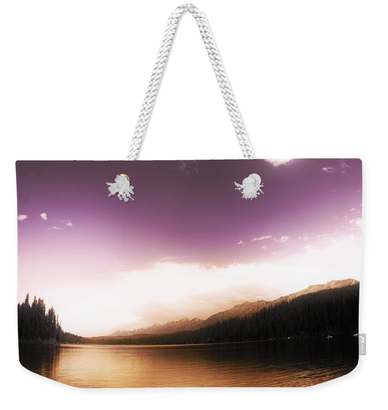 Dreamy Weekender Tote Bag featuring the photograph A Twist Of Fate by Janie Johnson