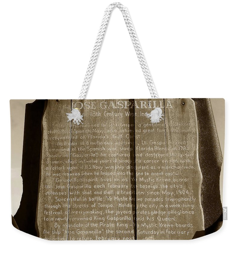 Fine Art Photography Weekender Tote Bag featuring the photograph A West Indiaman by David Lee Thompson