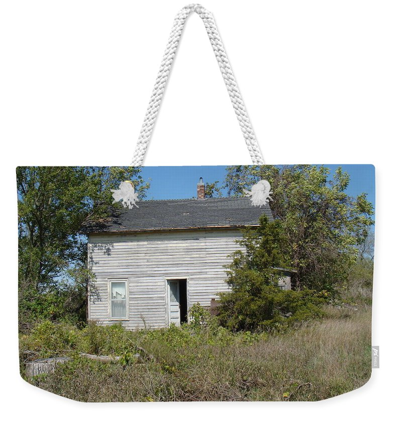 Abandoned Weekender Tote Bag featuring the photograph Abandoned by Bonfire Photography
