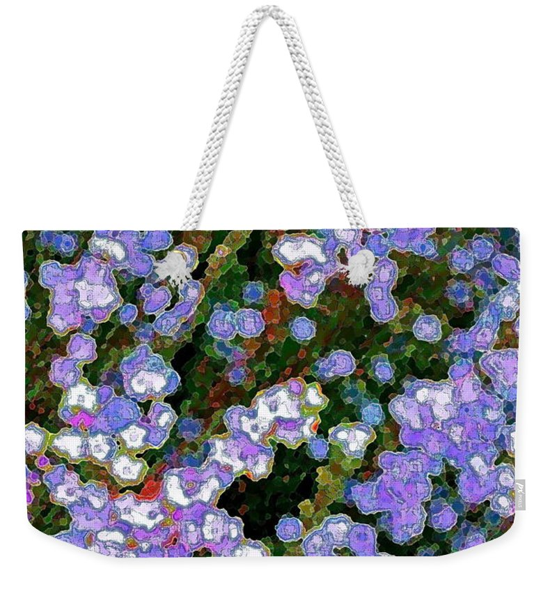Abstract Weekender Tote Bag featuring the photograph Abstract 208 by Pamela Cooper
