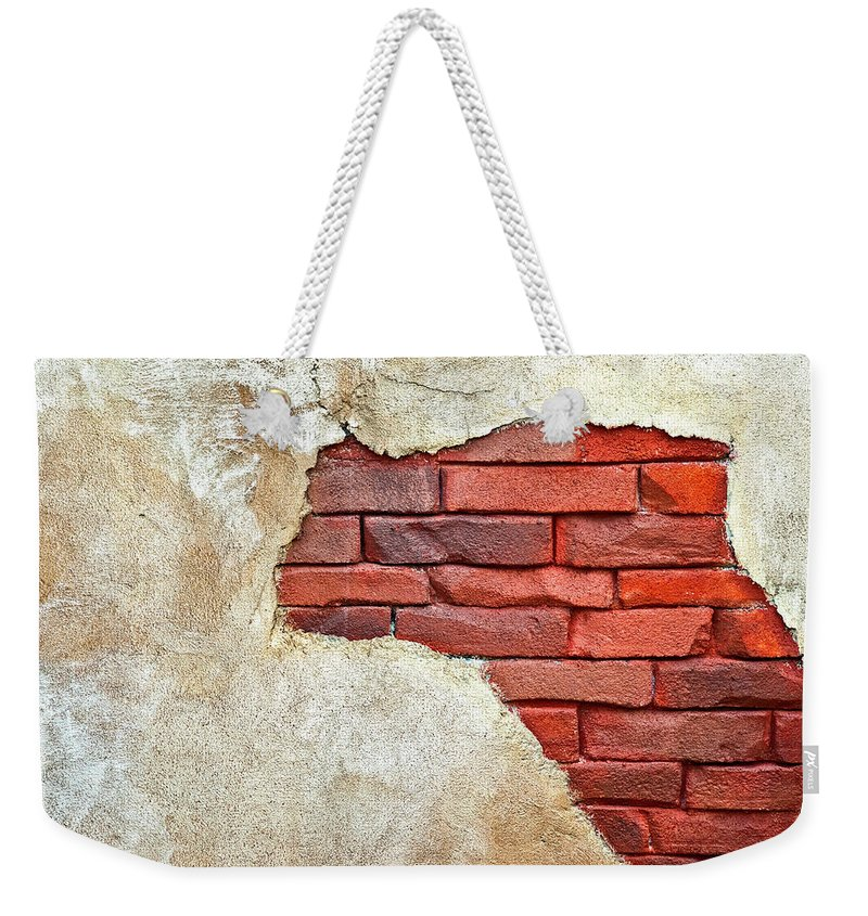Africa Weekender Tote Bag featuring the photograph Africa In Bricks by Carolyn Marshall