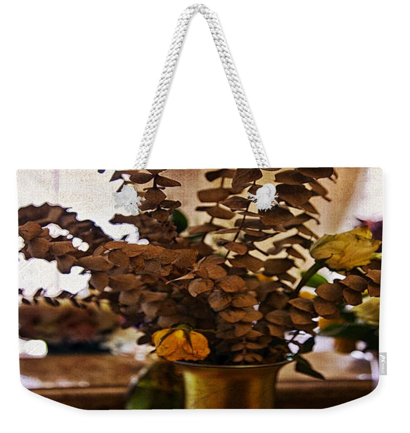 Flowers Weekender Tote Bag featuring the photograph Afterglow by Madeline Ellis