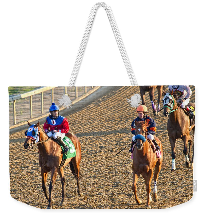 Horse Weekender Tote Bag featuring the photograph Afterwards by Betsy Knapp
