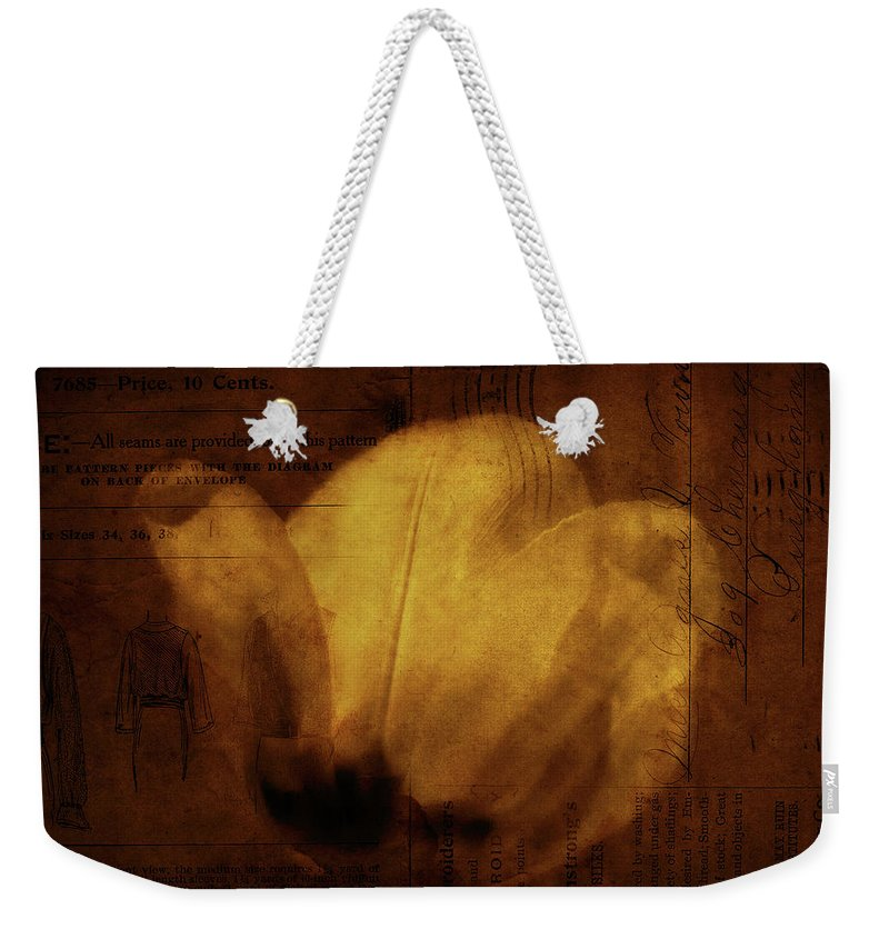 Seems Weekender Tote Bag featuring the photograph All Seems Provided For by Rebecca Sherman