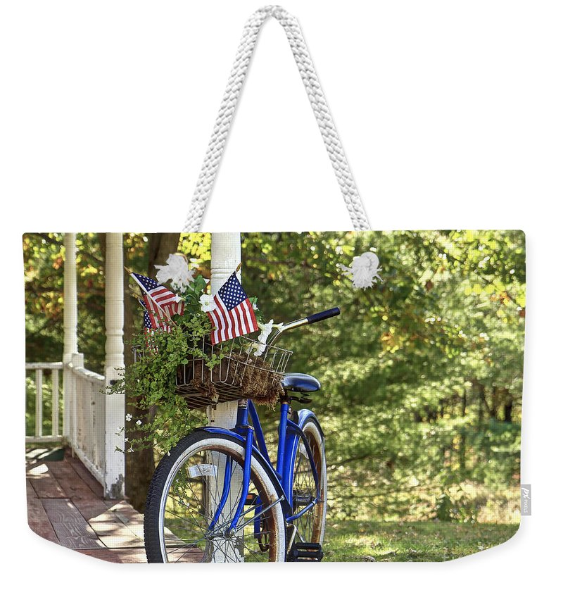 Home Weekender Tote Bag featuring the photograph American Dream by Brenda Giasson