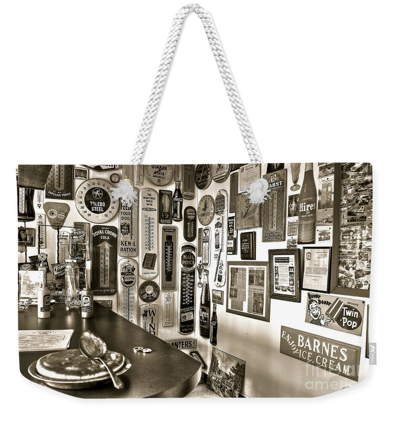 Pie Weekender Tote Bag featuring the photograph American Pie by Brenda Giasson