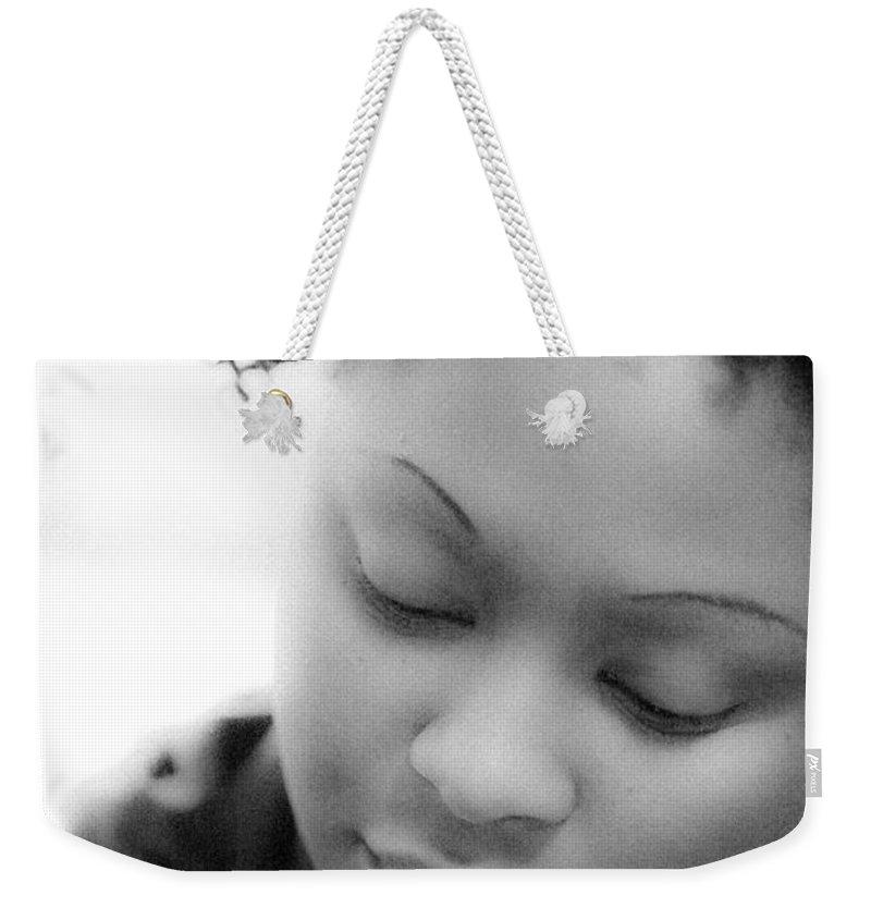 Amina Weekender Tote Bag featuring the photograph Amina At Moliere by Hakon Soreide