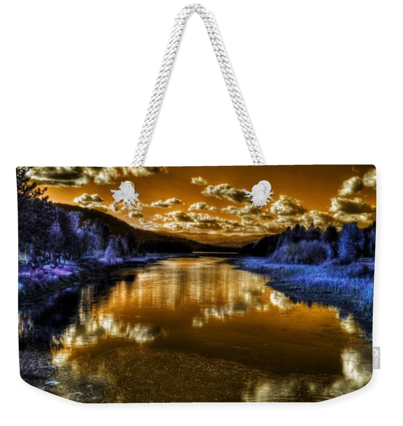 Digital Fantasy Weekender Tote Bag featuring the photograph An Idaho Fantasy 2 by Lee Santa