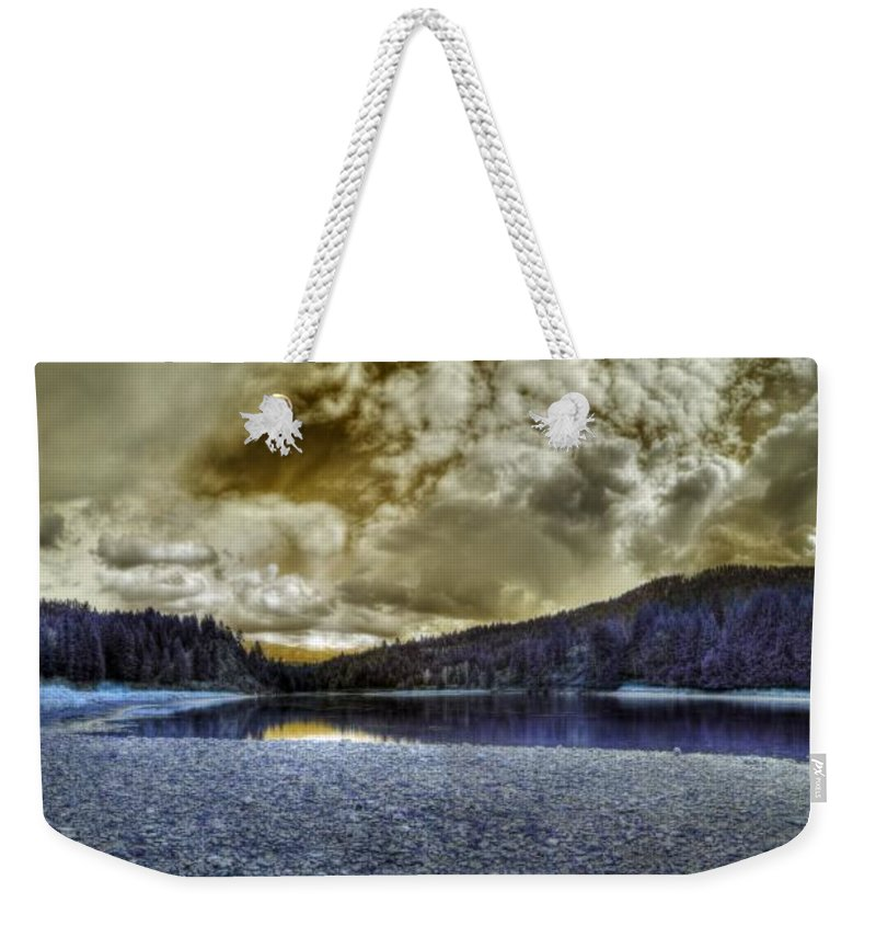 Digital Fantasy Weekender Tote Bag featuring the photograph An Idaho Fantasy 3 by Lee Santa