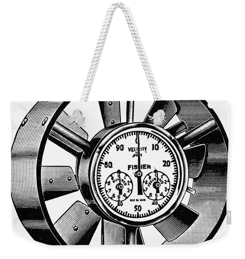 20th Century Weekender Tote Bag featuring the photograph Anemometer, 20th Century by Granger