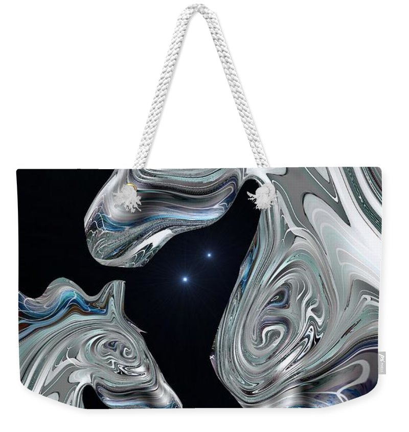 Arabian Weekender Tote Bag featuring the digital art Arabian Nights by Maria Urso