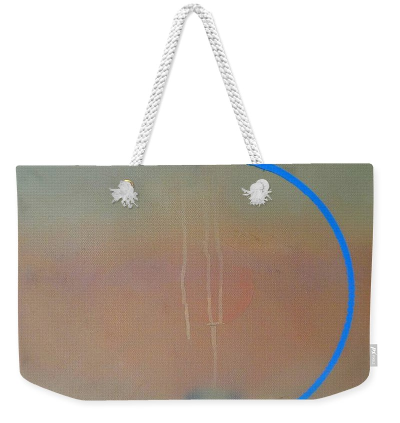Arc Weekender Tote Bag featuring the painting Arc by Charles Stuart
