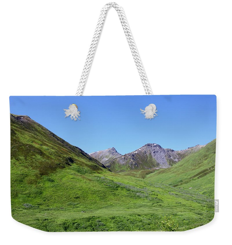 Doug Lloyd Weekender Tote Bag featuring the photograph Archangel Valley by Doug Lloyd