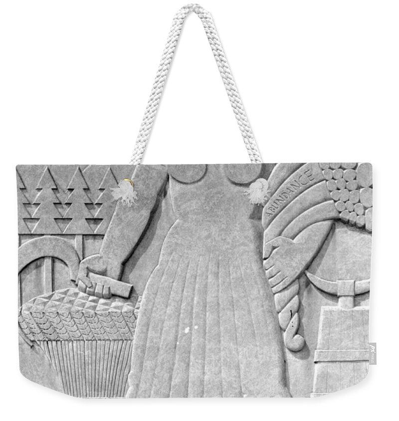 Art Deco Weekender Tote Bag featuring the photograph Art Deco 16 by Andrew Fare