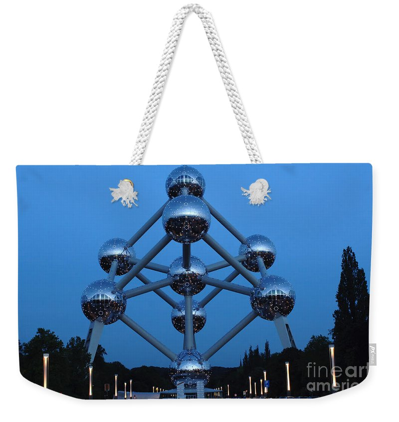 Art Weekender Tote Bag featuring the photograph Art In Architecture 1 by Bob Christopher