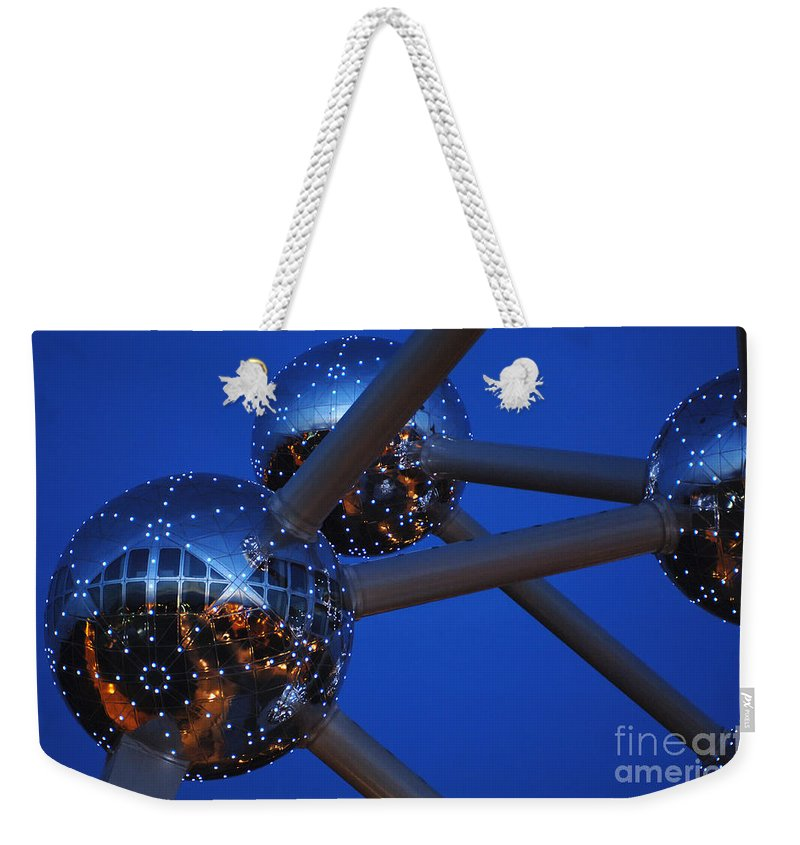Art Weekender Tote Bag featuring the photograph Art In Architecture 3 by Bob Christopher