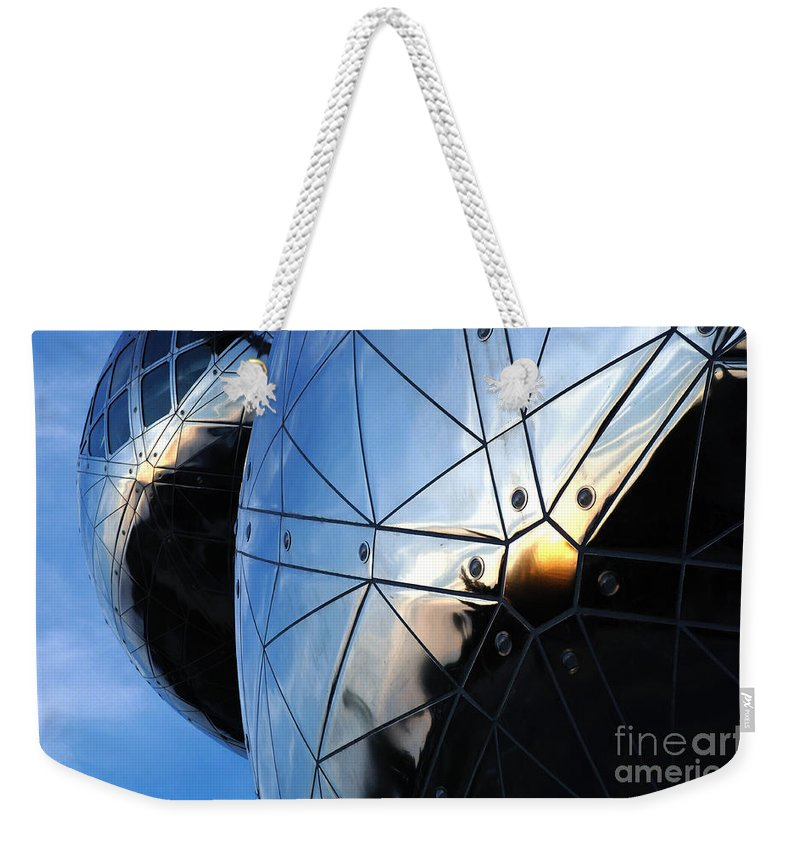 Art Weekender Tote Bag featuring the photograph Art In Architecture 5 by Bob Christopher