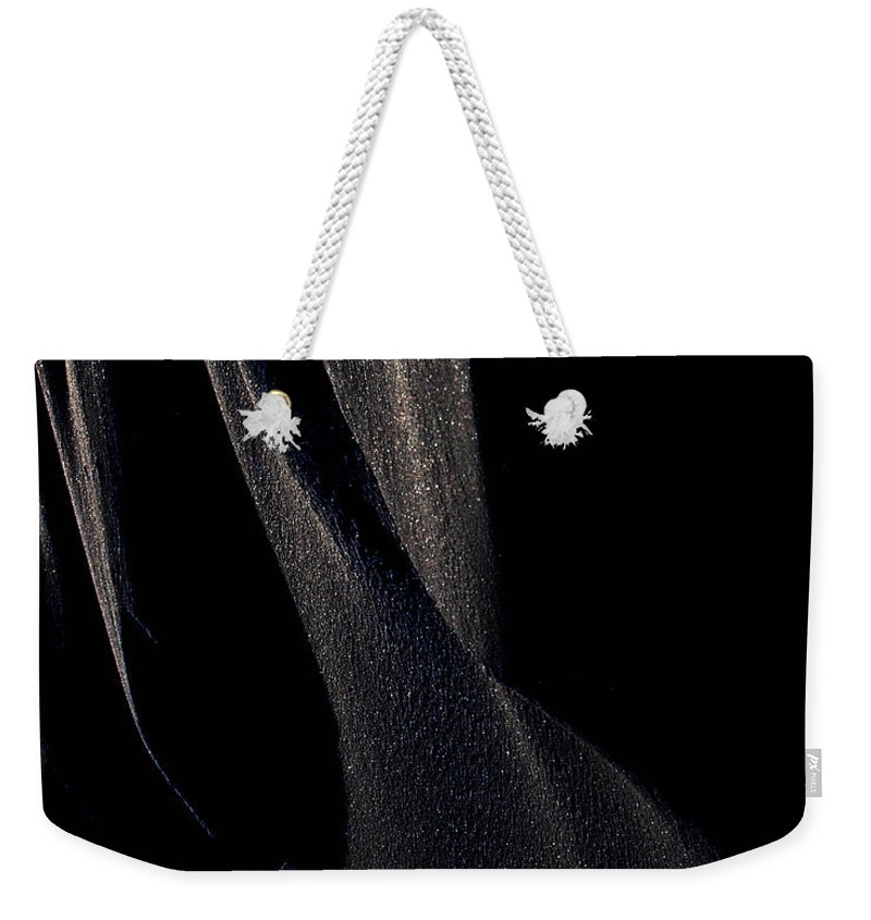 : Jerry Cordeiro Photographs Photographs Photographs Photographs Photographs Weekender Tote Bag featuring the photograph Ashes With Night by The Artist Project