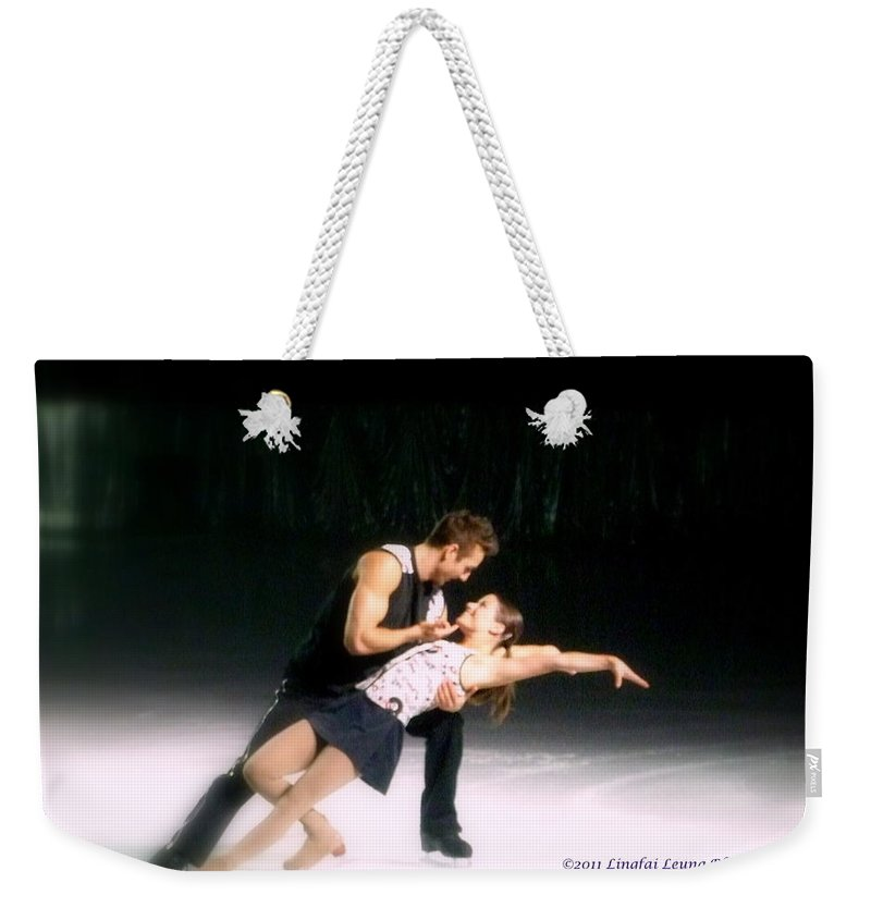 Action Photograph Weekender Tote Bag featuring the photograph Aspects Of Love by Lingfai Leung