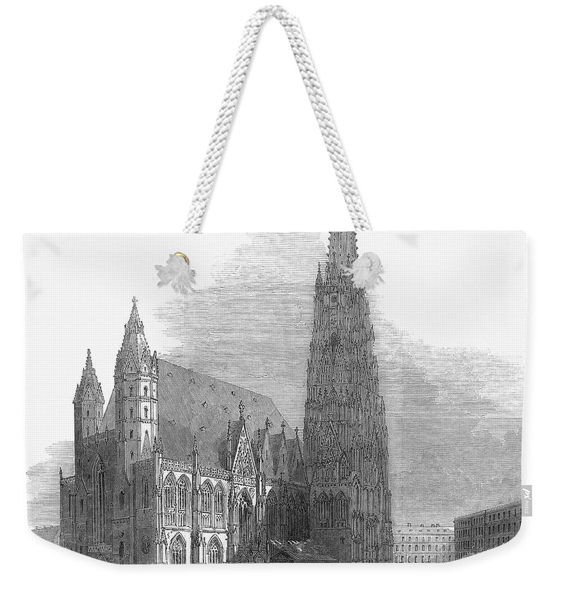 1848 Weekender Tote Bag featuring the photograph Austria: 1848 Revolution by Granger
