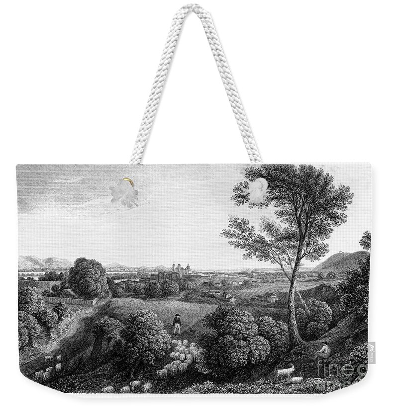 1822 Weekender Tote Bag featuring the photograph Austria: Klosterneuburg by Granger