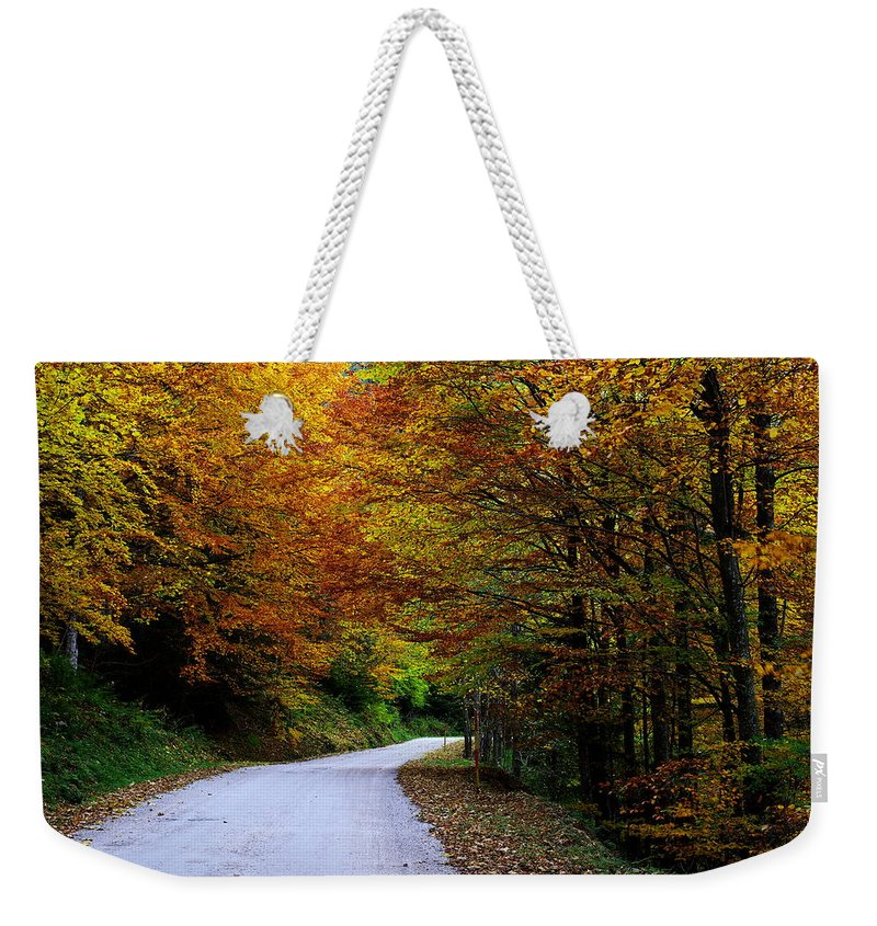 Autumn Weekender Tote Bag featuring the photograph Autumn by Ivan Slosar