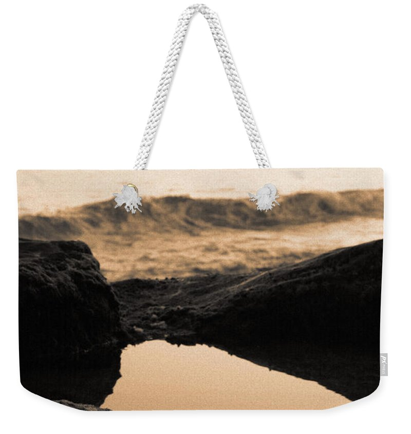 Azores Weekender Tote Bag featuring the photograph Azores Islands Seascape by Gaspar Avila