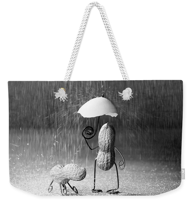 Peanut Weekender Tote Bag featuring the photograph Bad Weather 01 by Nailia Schwarz