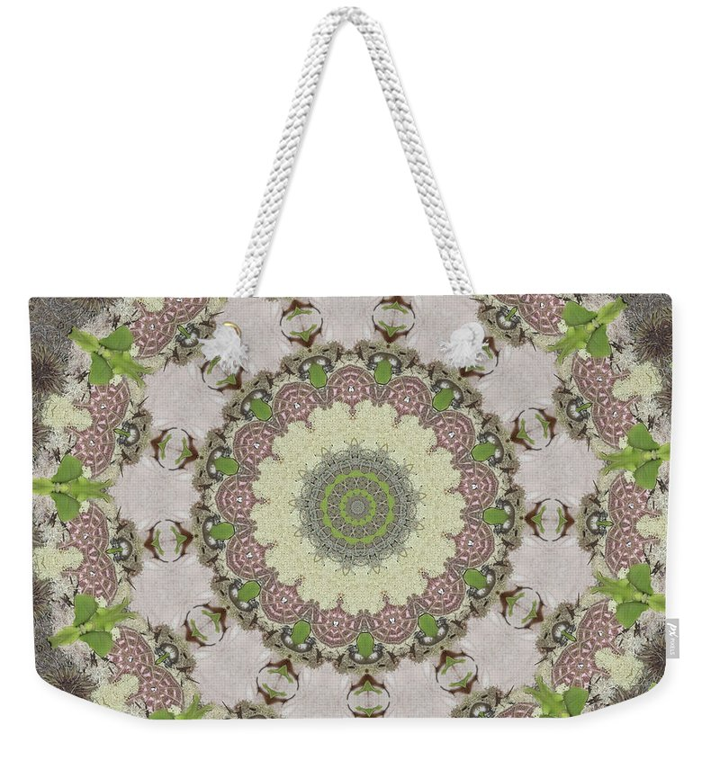Weekender Tote Bag featuring the photograph Bailey by Trish Tritz