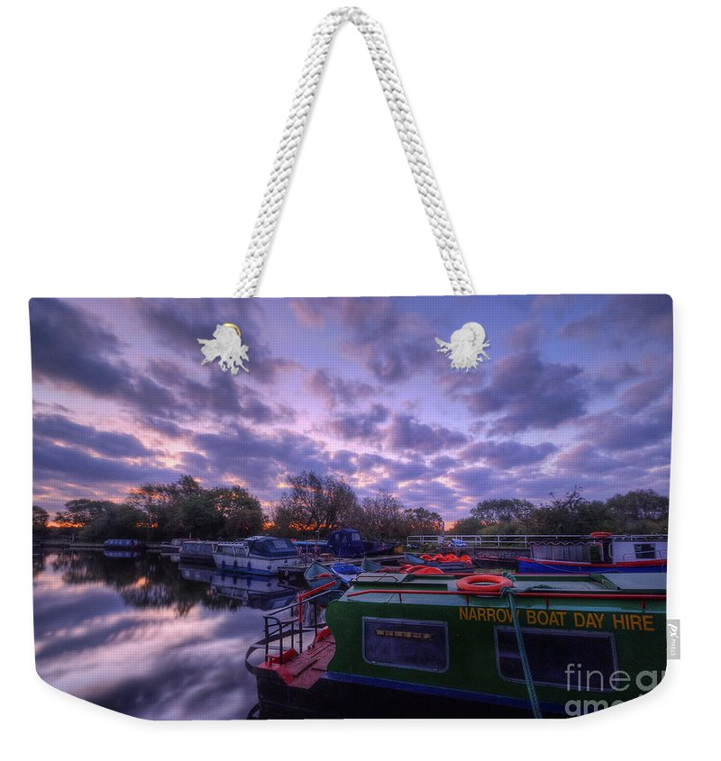 Hdr Weekender Tote Bag featuring the photograph Barrow Boats 2.0 by Yhun Suarez