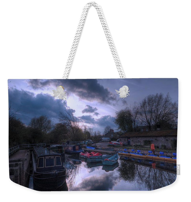 Art Weekender Tote Bag featuring the photograph Barrow On Blues by Yhun Suarez