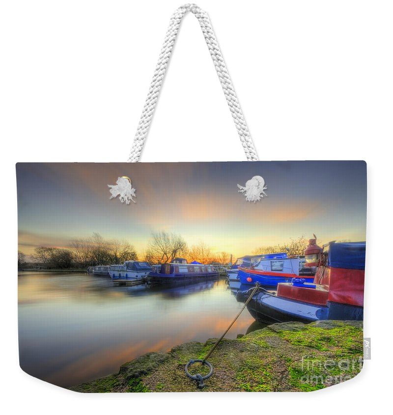 Hdr Weekender Tote Bag featuring the photograph Barrow Sunrise In Motion 2.0 by Yhun Suarez