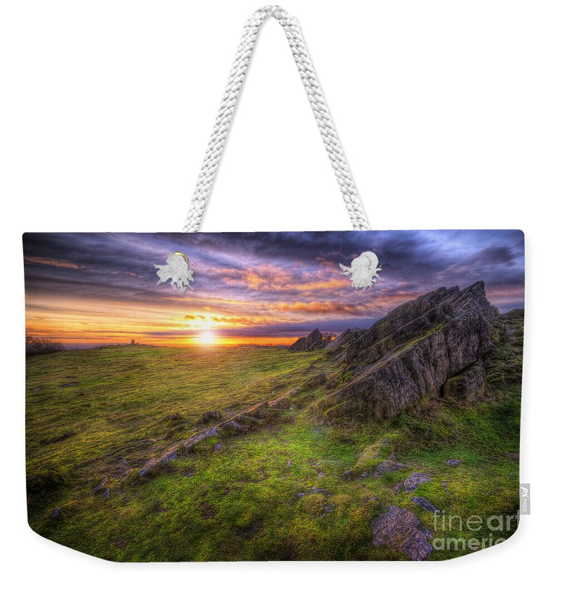 Art Weekender Tote Bag featuring the photograph Beacon Hill Sunrise 11.0 by Yhun Suarez