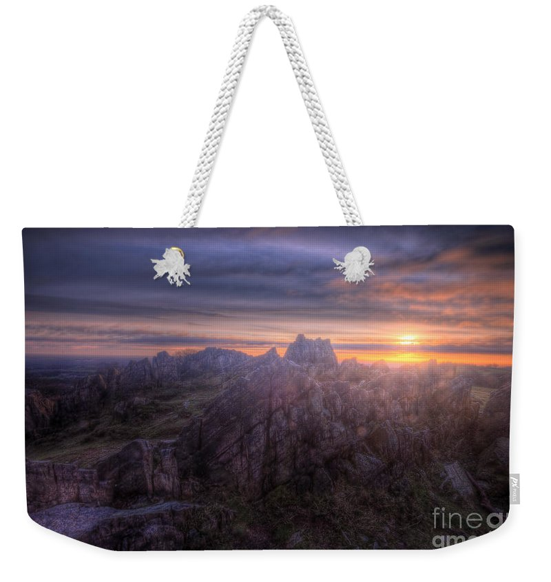 Art Weekender Tote Bag featuring the photograph Beacon Hill Sunrise 4.0 by Yhun Suarez