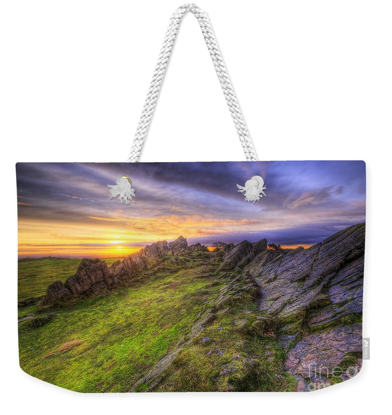 Art Weekender Tote Bag featuring the photograph Beacon Hill Sunrise 5.0 by Yhun Suarez