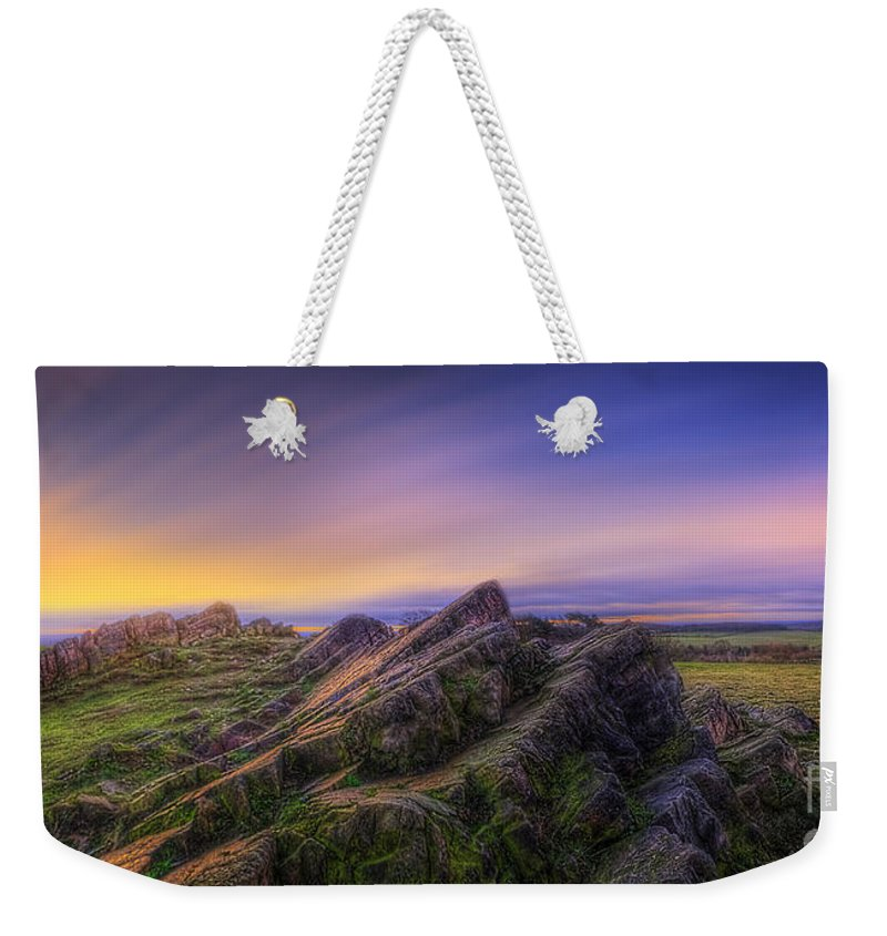 Panorama Weekender Tote Bag featuring the photograph Beacon Hill Sunrise 7.0 by Yhun Suarez