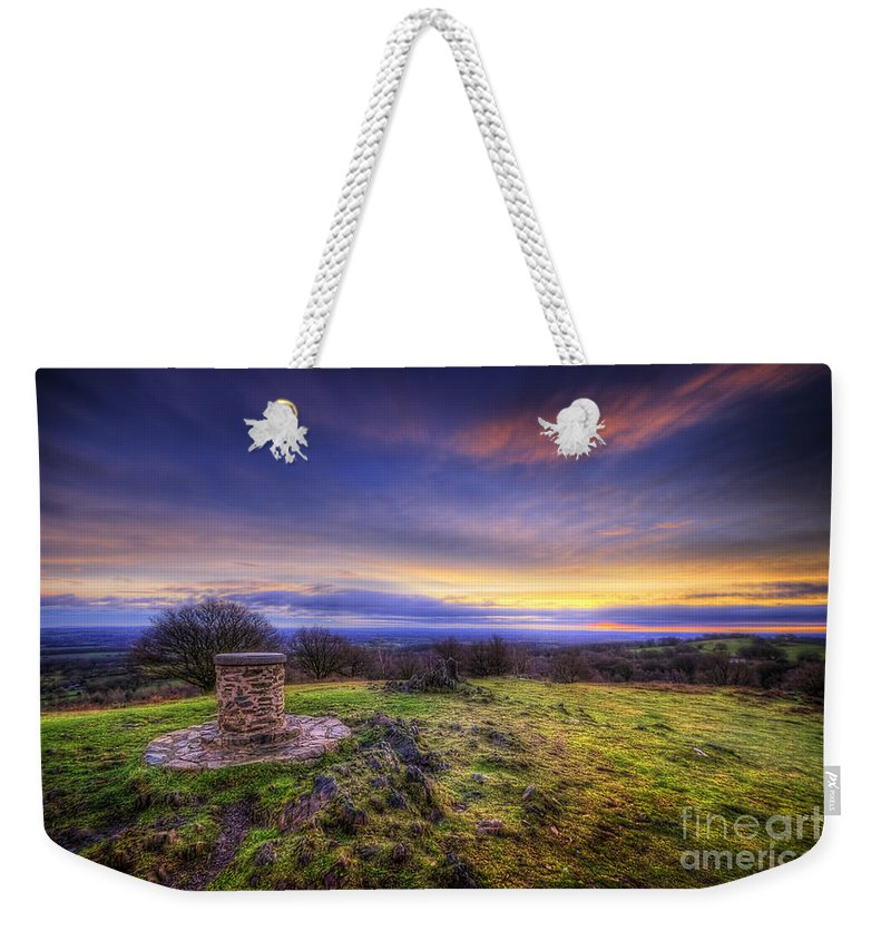 Art Weekender Tote Bag featuring the photograph Beacon Hill Sunrise 8.0 by Yhun Suarez
