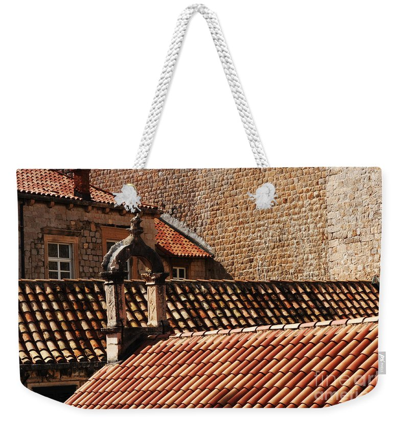 Dubrovnik Weekender Tote Bag featuring the photograph Beauty Of Dubrovnik 2 by Bob Christopher