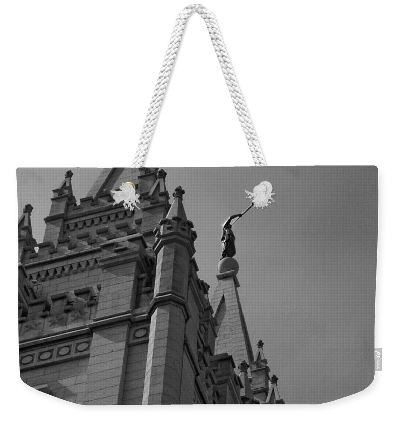 The Church Of Jesus Christ Of Latter-day Saints Weekender Tote Bag featuring the photograph Behold I Speak Unto You by Joshua House