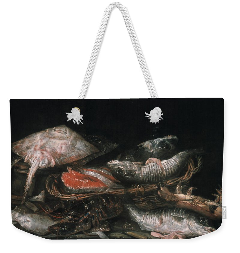 1650 Weekender Tote Bag featuring the photograph Beijeren: Fish by Granger